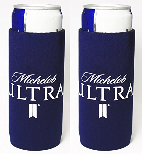 michelob-ultra-slim-can-licensed-beer-coolie-holder-huggie-2-pack