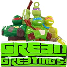 "TEENAGE MUTANT NINJA TURTLES© ""GREEN GREETINGS"" ORNAMENT"