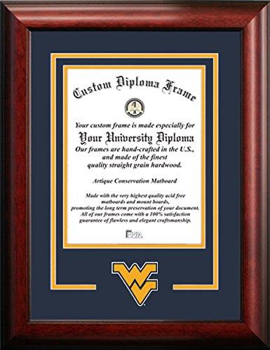 West Virginia University Mascot Logo Diploma Frame (11 X 14)