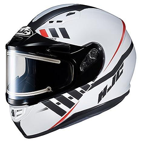 Casco CS-R3 enmarcado eléctrico casco de motocicleta de juguete espacio blanco/negro/