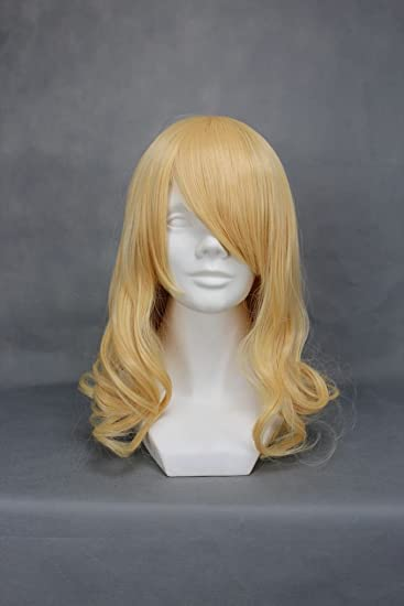 Amazon ruler short axis powers the kingdom of belgium yellow ruler short axis powers the kingdom of belgium yellow anime cosplay wig pmusecretfo Gallery