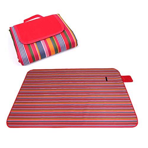 (ZDTXKJ Outdoor Picnic Blanket Water-Resistant Beach Blanket Tent mat Widened Picnic Cloth,Color 13,200150cm)
