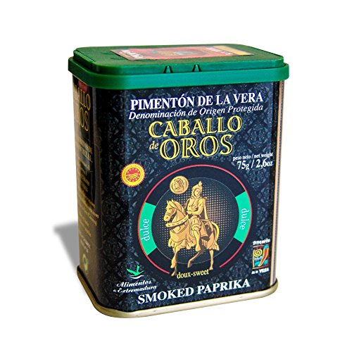 Caballo de Oros – Pimentón de la Vera dulce D.O.P. Lata de 75 gr.