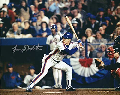 Autographed Lenny Dykstra 8x10 New York Mets Photo