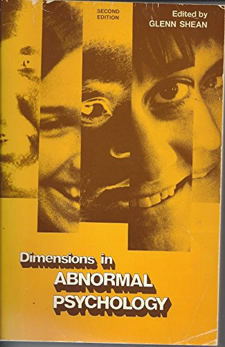 Dimensions in abnormal psychology (Rand McNally psychology series)