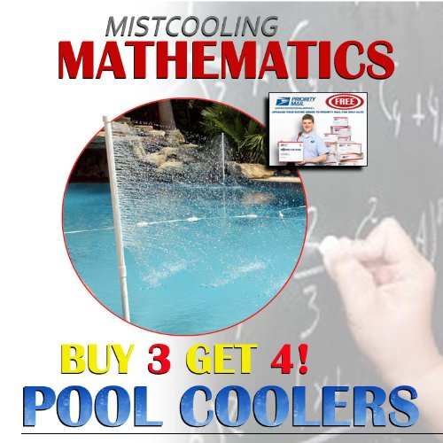 Pool Cooler Summer Offer- inground pool cooler (pack of 4), Buy 3 and get the 4th for free -