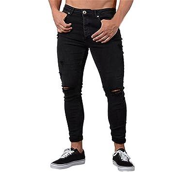 Longra 2018 Pantalones de Mezclilla Elásticos Pitillo para ...