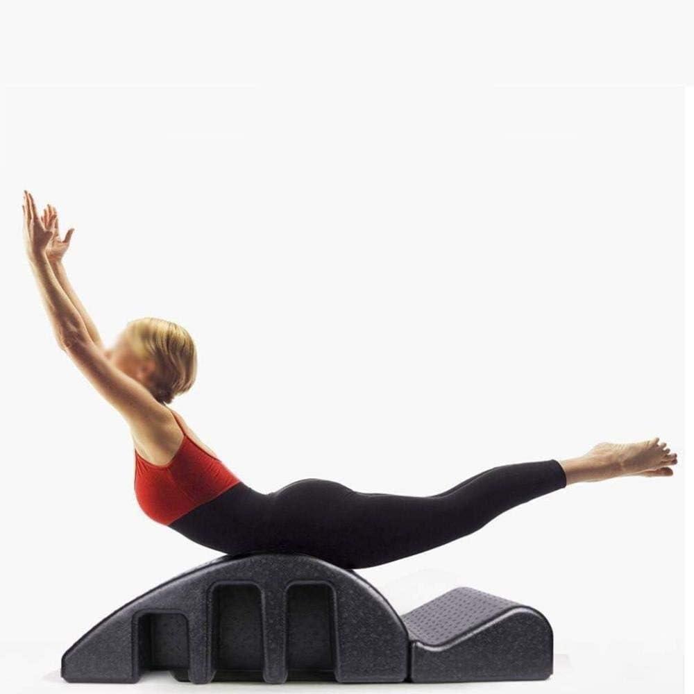 YF-SURINA Equipo deportivo Cama de masaje Pilates Yoga Cuña Arc Cama de masaje Órtesis espinal Deformidad ortopédica espinal Corrección cervical Espuma Corrección de cifosis Equipo de ejercicios Arc