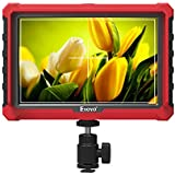 A7S 7 Inch 1920x1200 IPS On Camera Field Monitor Supports 4K HDMI Input Loop Output Camera-top Screen For DSLR Mirrorless Camera SONY A7S II A6500 Panasonic GH5 Canon 5D Mark IV DJI Ronin M
