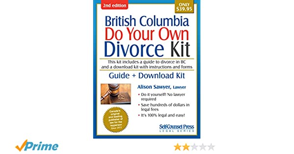 Do your own divorce kit british columbia guide download kit do your own divorce kit british columbia guide download kit alison sawyer 9781770402409 books amazon solutioingenieria Choice Image