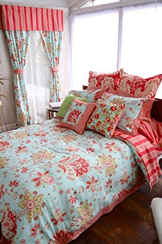 Welspun Amy Butler Sari Bloom Cotton Duvet Set Full Queen
