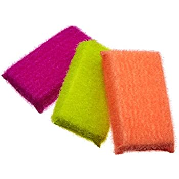 Amazon.com: Brighten Up Sparkle Sponges, Set of 3, Pack of 3: Health ...