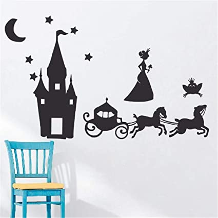 Amazon com: howdonx Wall Art Stickers Quotes and Sayings Fairytale