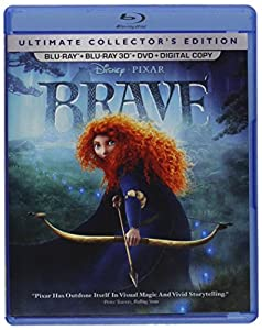 Cover Image for 'Brave (Five-Disc Ultimate Collector's Edition: Blu-ray 3D / Blu-ray / DVD + Digital Copy)'