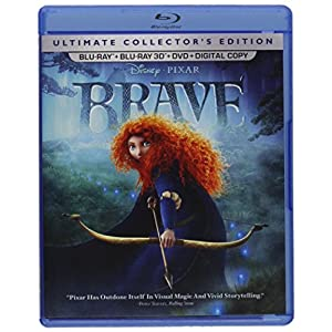 Brave (Five-Disc Ultimate Collector's Edition: Blu-ray 3D / Blu-ray / DVD + Digital Copy) (2012)