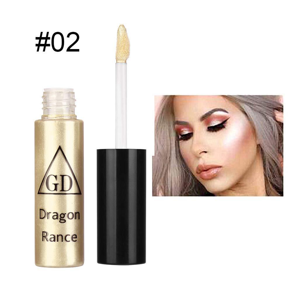 WENSY contour highlight palette Contour Brightening Liquid Concealer Gloss Makeup Nude 5 Shades Moisturizin