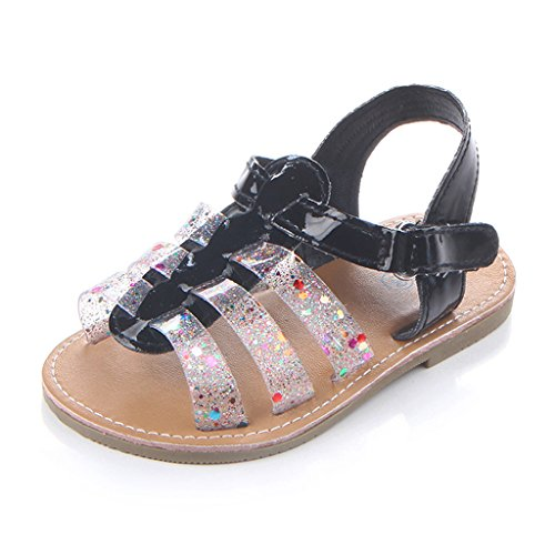 Annnowl Baby Girls Sandals Rubber Sole Summer Shoes