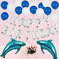 Remebe Decoraciones para Fiestas de Cumpleaños, Globos Cumpleaños 116 Piezas Globos de Látex y Globos de Fiesta de Artículos de Fiesta de Cumpleaños ...