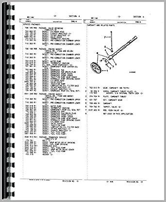 international harvester 444 tractor engine parts manual amazon ca rh amazon ca