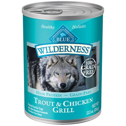Blue Buffalo Wilderness Trout & Chicken Grill - 12 - 12.5 oz. Cans by Summit