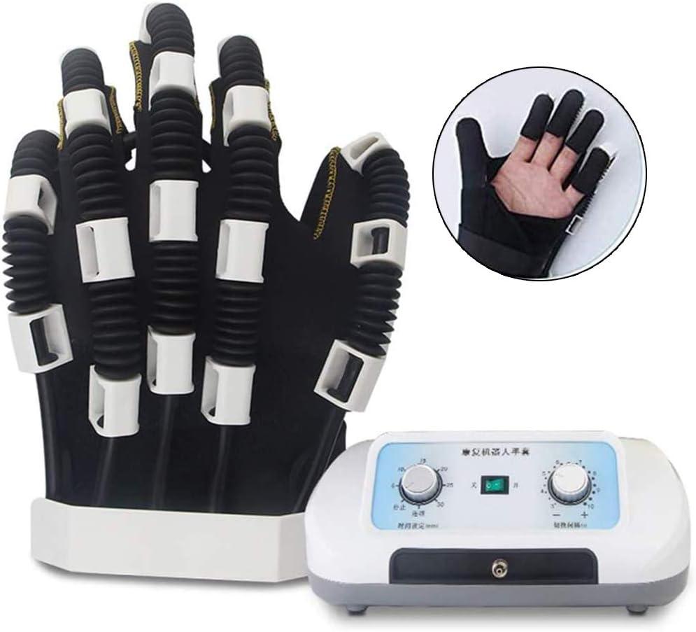 Guantes de Robot de Rehabilitación, Hemiplejia de Accidente Cerebrovascular Equipo de Entrenamiento, Ortesis Dedo, Dedo Placa de Dispositivos,Two Hands S: Amazon.es: Hogar