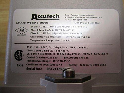 Accutech WI-DP-I-100IN Differential Pressure Field Unit: Amazon.com: Industrial & Scientific