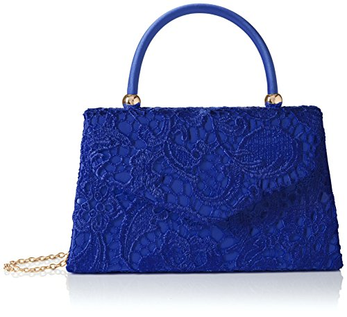 Kendall Blue Royal Smart Womens Clutch Elegant Blue Lace SWANKYSWANS Sw4qUR