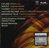A Cappella Works By Copland, Durufle, Tavener + Others [SACD] by Mackenzie/ASO Chorus (2006-02-28)
