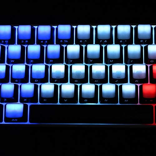 104 Key Profile Printed Translucent Blank Top All Light-transmitting Keycaps Keyboards /& Mouse Keycaps /& Switches - 104 Key - 1 104 Key OEM Profile Side Printed Translucent Top All Light