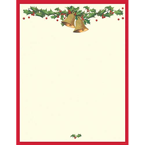 christmas letter borders stationery paper 10496 | 51yw g7mGyL. SR500,500