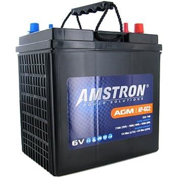 Amazon Com Vmaxtanks 6 Volt 225ah Agm Battery High