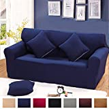 Argstar Cover of Sofa Couch Furnture Protector Slipcover Navy Blue