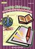 Monthly Mini-Lessons, Mary A. Lombardo, 1586831844