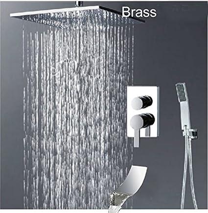 rain shower head canada. Rozinsanitary Modern 8 Quot  Brass Rain Shower Head Waterfall Tub Spout Valve Mixer Hand Sprayer