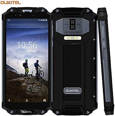 Teléfono móvil para Exteriores, oukitel WP2 6 Pulgadas Smartphone ...