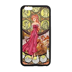 Custom Zombie Princess TPU Cases Protector Snap On Cover For iphone 6 plus, iphone 6 plus Case, 5.5 inch