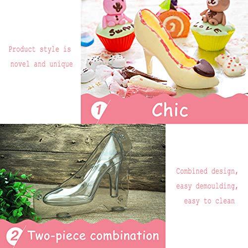 WENTS Schokolade High Heels 2PCS DIY High Heel Schuh 3D