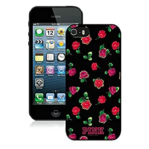 Personalized Design iPhone 5S Victoria's Secret Love Pink 24 Cell Phone Cover Case for Iphone 5s Generation Black