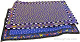 Doggy Kitty Hoots Placemats, COLORS: Blue Dancing Dogs