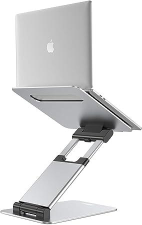 Nulaxy Aluminum Laptop Computer Stand Ergonomic Laptop Riser with Laptop Stand