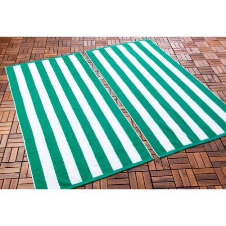 """Resort Toalla de playa, algodón egipcio Certificado – 35 """"x 70"""" –"""
