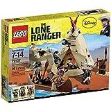 LEGO The Lone Ranger - 79107 - Jeu de Construction - Le Camp Comanche