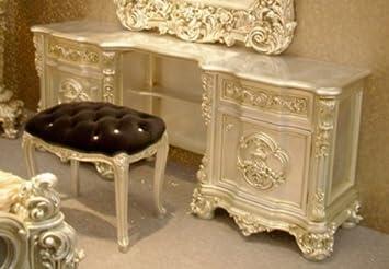 Frisier   Tisch Schminktisch Kommode Für Schlafzimmer Antik Stil Barock  Vp7706