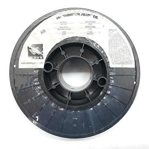 Washington Alloy 11 Lb. Spool Mig Welding Wire 70S-6 (.030 x 11 lb.) ()