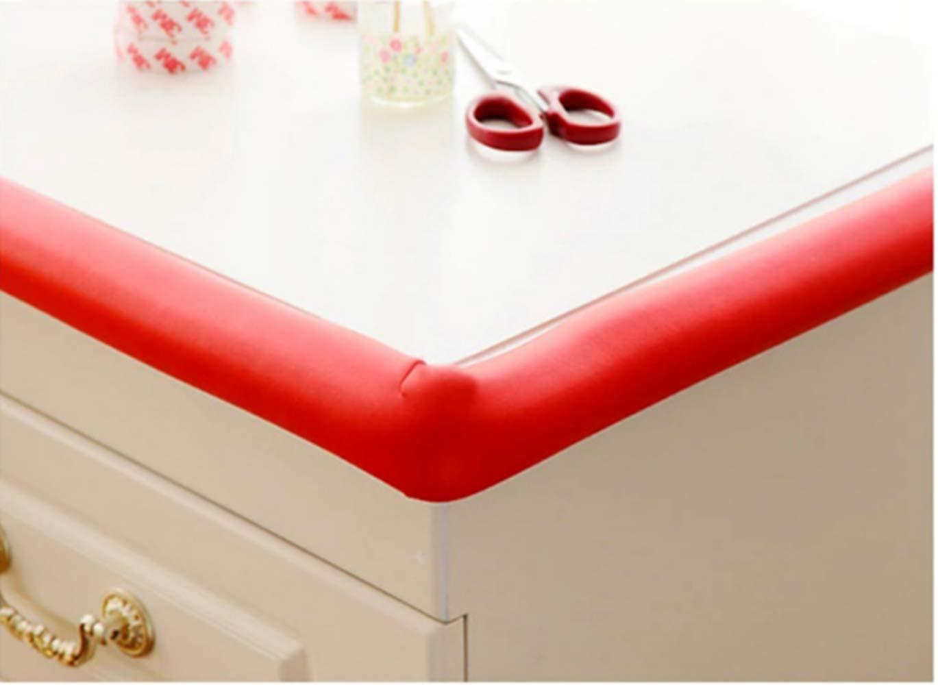 4 protectores de pantalla de goma en forma de L para proteger la mesa y evitar colisiones de los ni/ños para proteger los bordes de los muebles color al azar