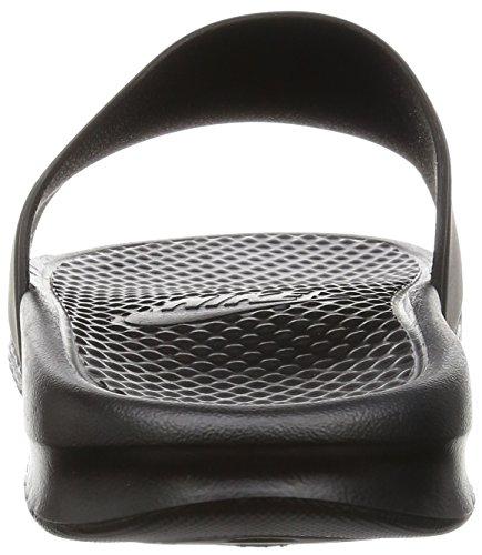 Nike Men's Benassi Shower Slide (12 D(M) US, Black/White)