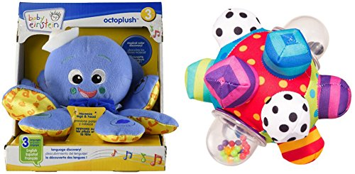 [Baby Einstein Octoplush Toy & Developmental Bumpy Ball Toys for Kids] (Baby Fish Costume Diy)