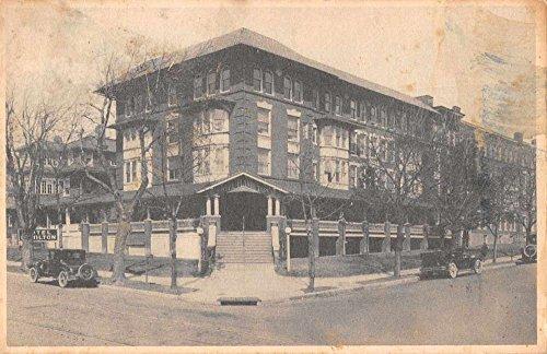 (Norristown Pennsylvania street scene The Hamilton hotel antique pc Z43383)