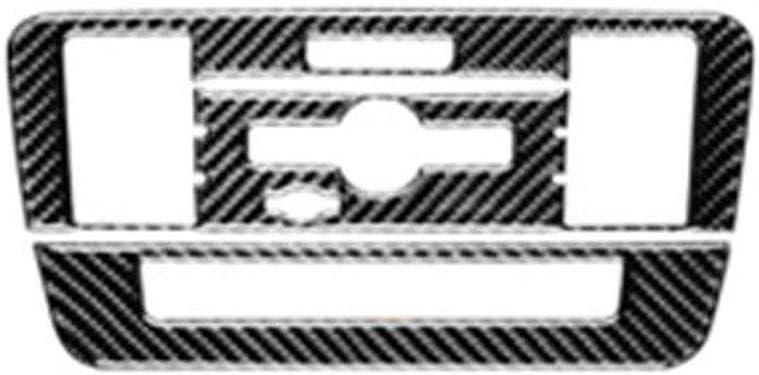 Carbon Fiber CD Air Conditioning Control Panel Cover for Merce-des-Benz A Class 2013-2018 for Merce-des B Class 2012-2018 for Merce-des CLA 2013-2017 for Merce-des GLA 2013-2018