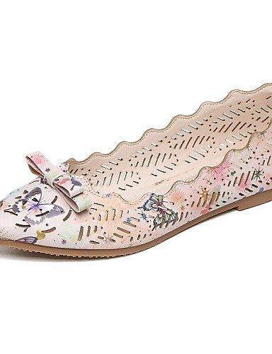 Puntiagudos Moda Cn39 Zq Plano Uk6 Botas Oficina Planos Trabajo Vestido A La Fiesta Eu39 Mujer Zapatos Tac¨®n De Pink Yyz Y Noche Casual Comfort us8 XSrqPwS0g
